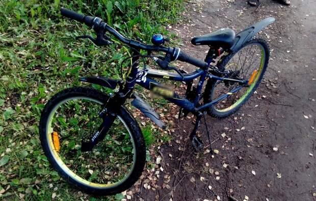 В Глазове сбили 8-летнего велосипедиста