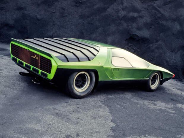 Alfa Romeo Carabo – итальянский дизайн, опережающий свое время.
