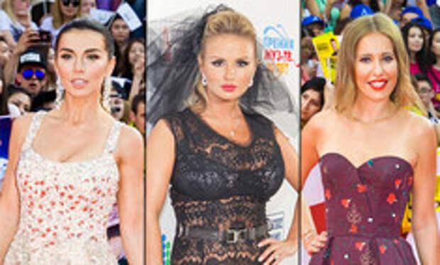 Незабываемые образы звезд на «Премии МУЗ-ТВ»: модные взлеты и падения