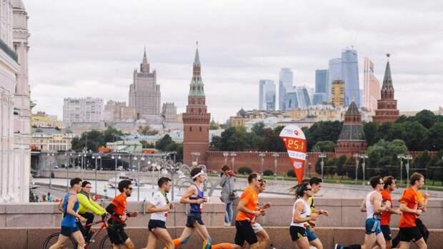 Московский полумарафон перенесен в связи с эпидемической обстановкой