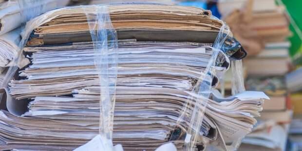 Школьники из Алексеевского собрали 868 килограммов макулатуры