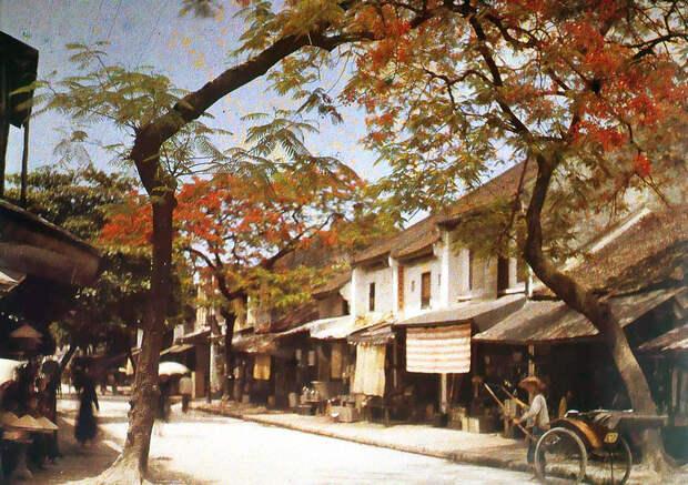 Вьетнам 1915 года на цветных фото