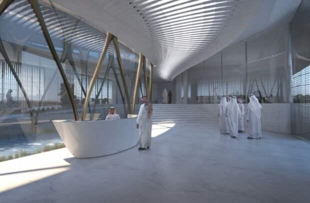 Внутренний дизайн Центра управления городским наследием.