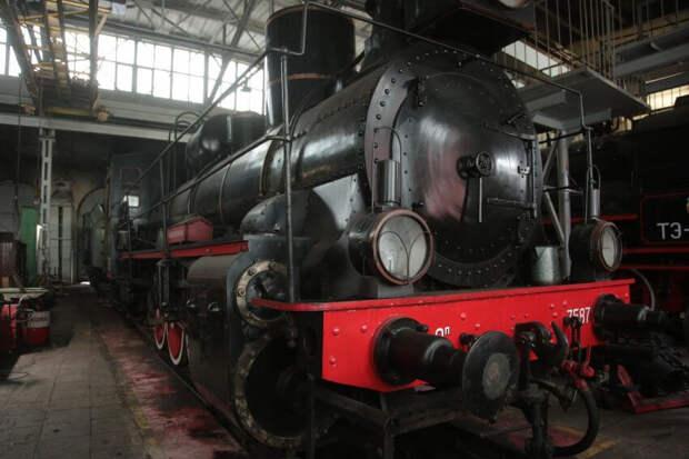 Музейный комплекс паровозного депо в Амбулаторном проезде вновь откроет свои двери для посетителей