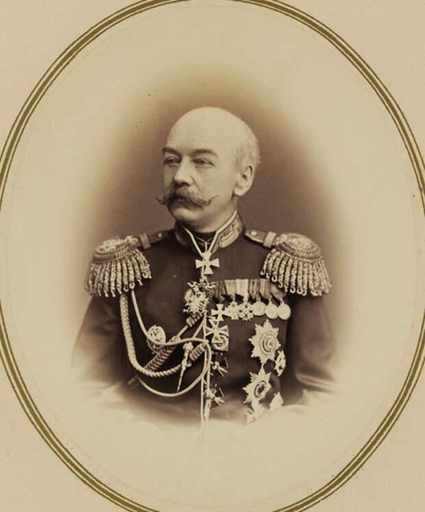 Генерал-губернатор Туркестана Константин фон Кауфман.