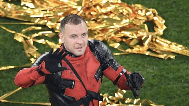 Дзюба рассказал, что костюм Дэдпула ему принесли уже после матча с «Локомотивом»