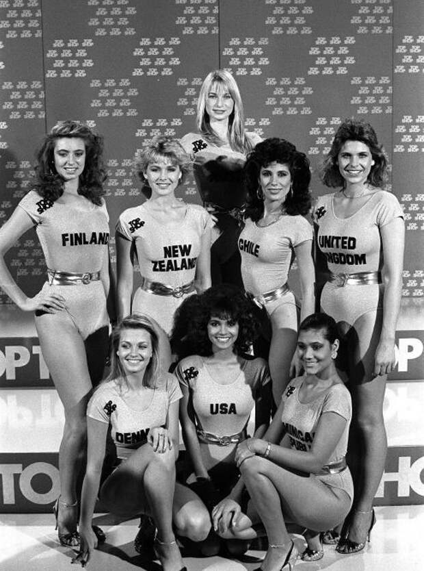 Холли Берри на конкурсе красоты «Мисс США 1986».