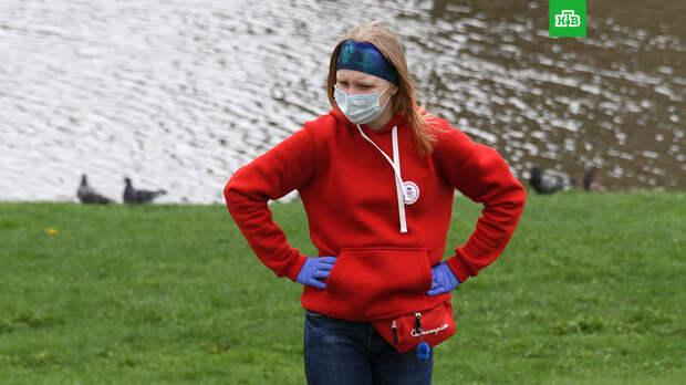 Ученый предупредил овреде долгого ношения масок иперчаток