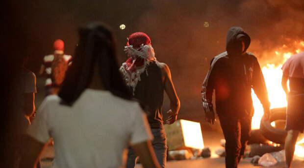 Палестинцы снова подрались с полицией на Храмовой горе