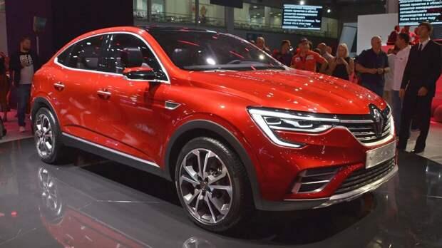Обновленный Renault Arkana начал продаваться в России
