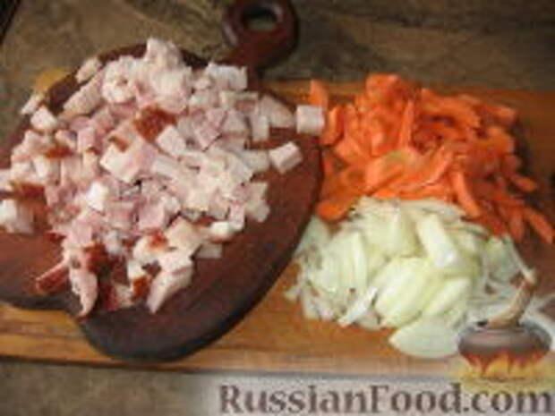 Фото приготовления рецепта: Кулеш с зайчатиной - шаг №3