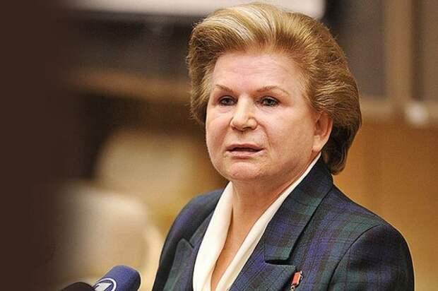 Женщина-героиня Валентина Терешкова празднует свое 79-летие