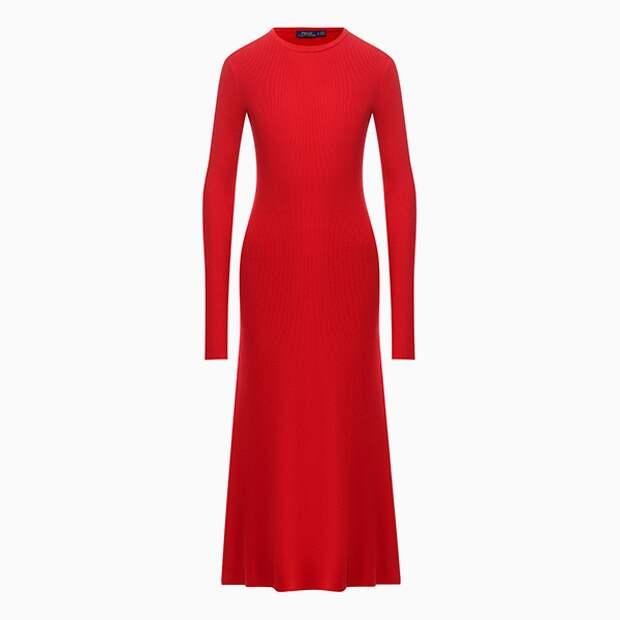 Платье-миди Polo Ralph Lauren