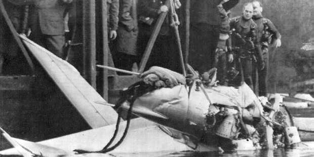 Берлинский подвиг советских лётчиков: Огромное небо одно надвоих