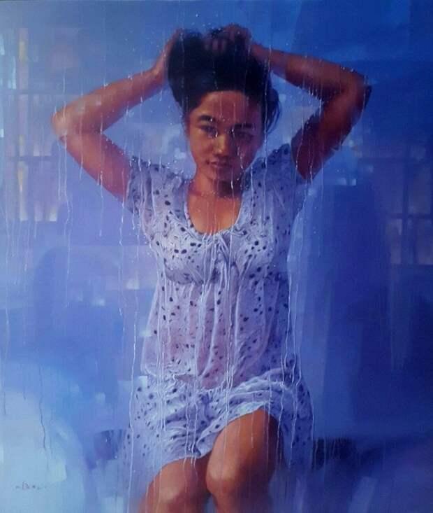 Мьянмский художник.