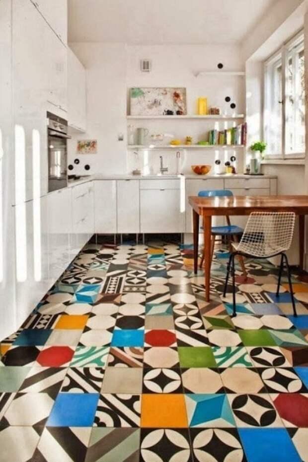 Используем по-максимуму: креативные идеи использования остатков плитки