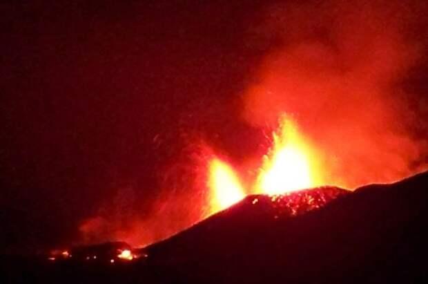 Пять человек погибли из-за извержения вулкана в ДР Конго