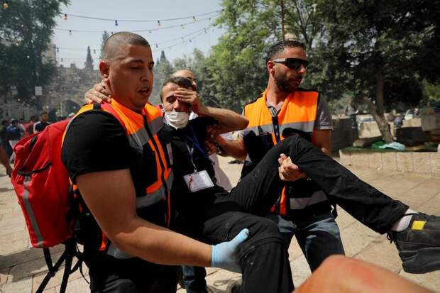 Израиль нанес удары по сектору Газа в ответ на ракеты, выпущенные боевиками ХАМАС