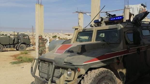 Военная полиция ВС РФ блокировала колонну американских военных на северо-востоке САР
