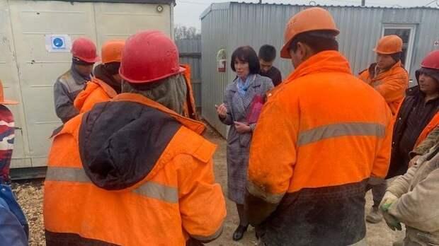 Госкомнац РК: Специалисты Госкомнаца Крыма посетили места осуществления трудовой деятельности иностранных граждан
