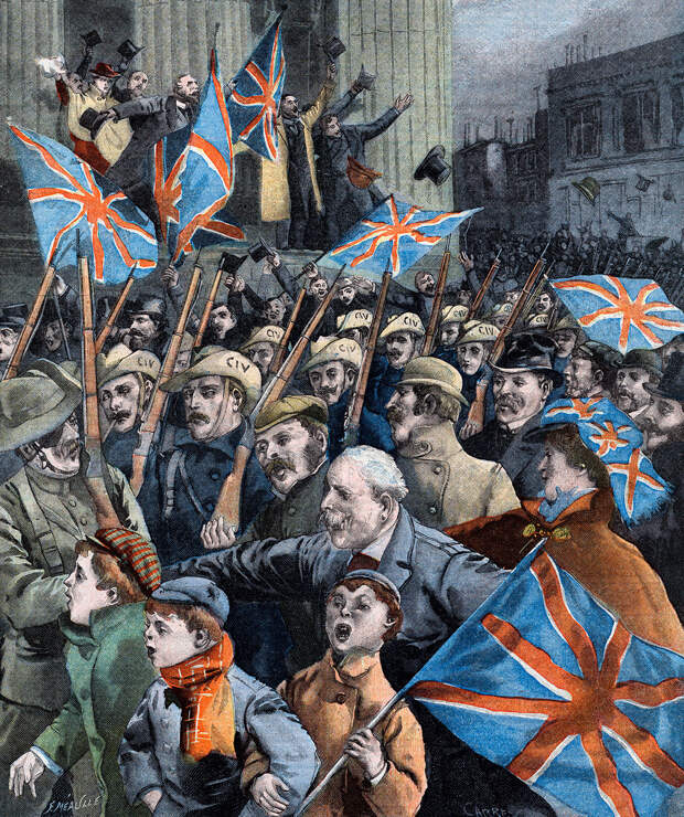 Почему Россия хотела, но не смогла спасти буров от британцев