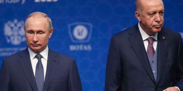 Путин и Эрдоган поговорили о ситуации в Восточном Иерусалиме