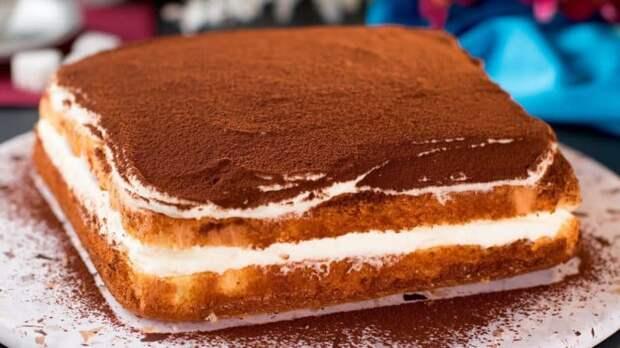 Творожный торт. 4 яйца, 120 г сахара, 200 г творога и немного ловкости рук 2