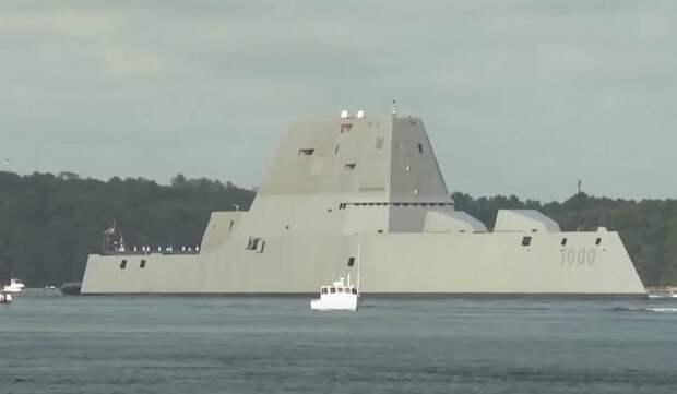 Американские эсминцы Zumwalt как пример применения новых технологий