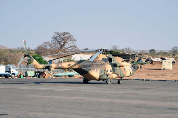Обострение на границе: военный вертолет разбился в Судане