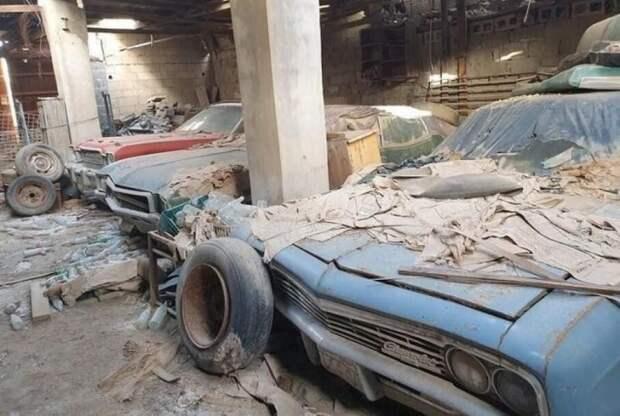 Дедушкины сокровища: вБахрейне нашли заброшенную коллекцию классических авто