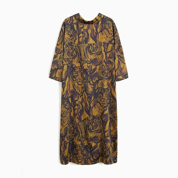 Платье Mango в стиле 1980-х
