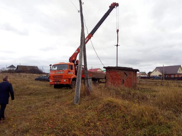 Половина жителей села в Сарапульском районе осталась без водоснабжения