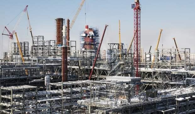 Объем инвестиций до2030 года внефтепереработку составляет около 800млрд рублей