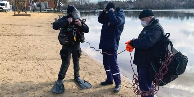 Водолазы МГПСС обследовали 11 столичных водоемов