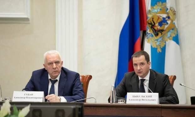 Александр Гуцан иАлександр Цыбульский обсудили реализацию национальных проектов врегионе