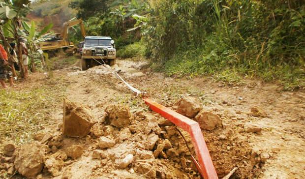 Вытаскиваем автомобиль из любой грязи