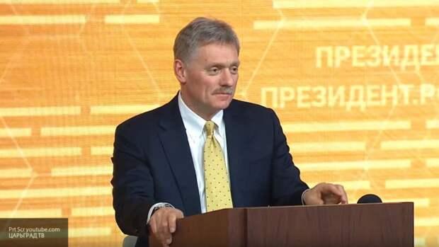 Песков назвал зависимостью желание США постоянно вводить санкции