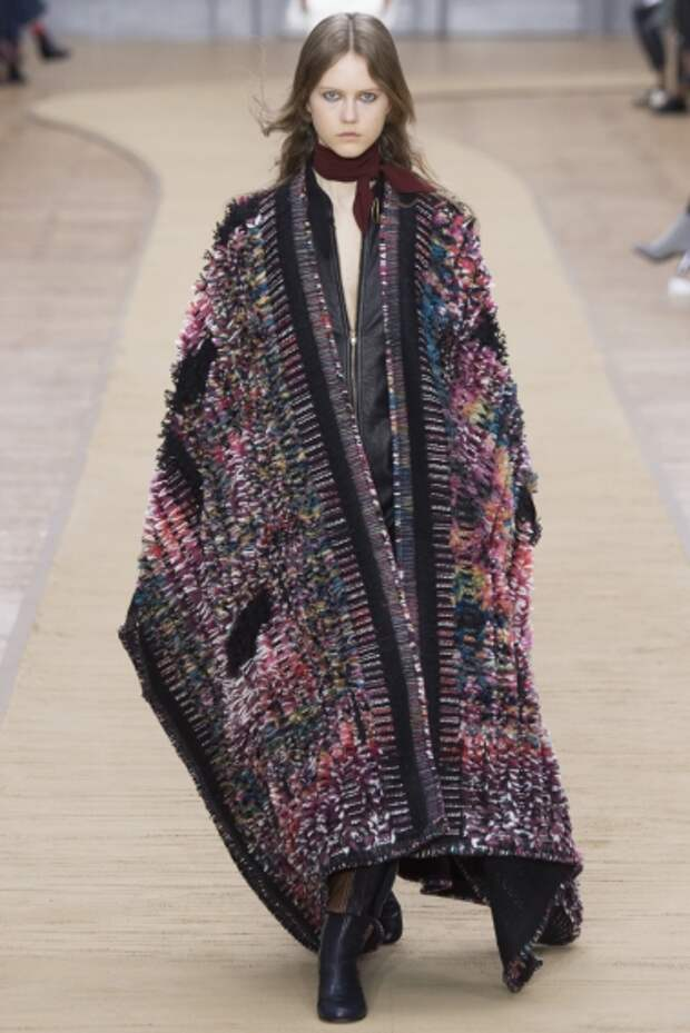 Кейп — модная альтернатива куртке
