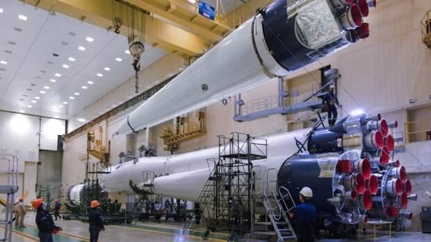 Роскосмос сообщил о подготовке ракеты «Союз-2.1б» к запуску со спутниками с Восточного