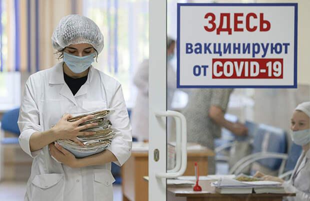 Пока в Москве антирекорды по числу заболевших, в России — самый высокий уровень противодействия вакцинации