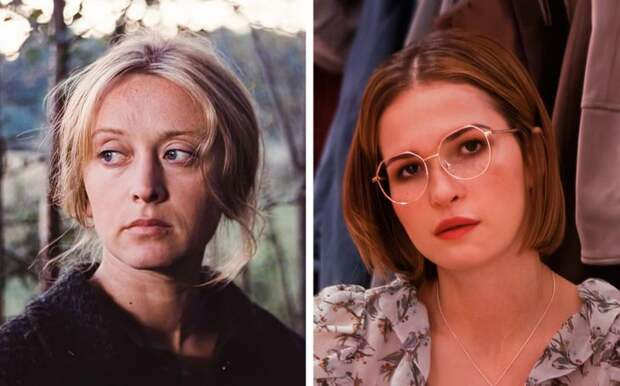Как выглядят 14 советских актрис и их современные коллеги в одном возрасте