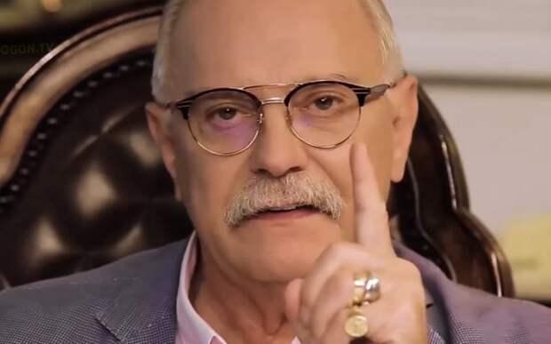 Достойный ответ Михалкова в авторской программе БесогонTV «Без цензуры и изъятий: Познер, поп Гапон и Гуси-Лебеди»