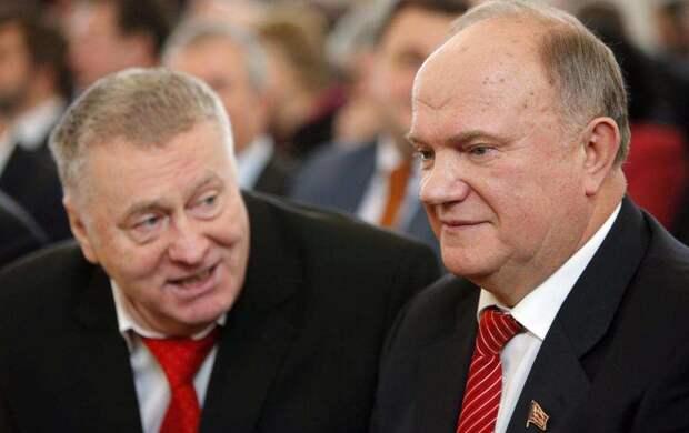Зюганов требует вышвырнуть Жириновского из эфиров Соловьёва