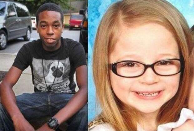 15-летний Темар Боггс преследовал автомобиль на своем велосипеде в течение 15 минут, чтобы спасти эту 5-летнюю девочку, которую украли прямо из ее двора в Пенсильвании.