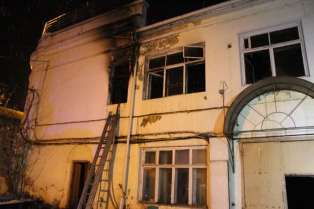 Пять мужчин погибли на пожаре в Казани