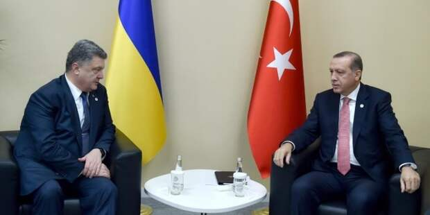 Эрдоган пообещал Порошенко поддержку в вопросе возвращения Крыма