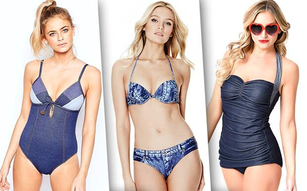 Джинсовые купальники: новый тренд покорил модниц всего мира!