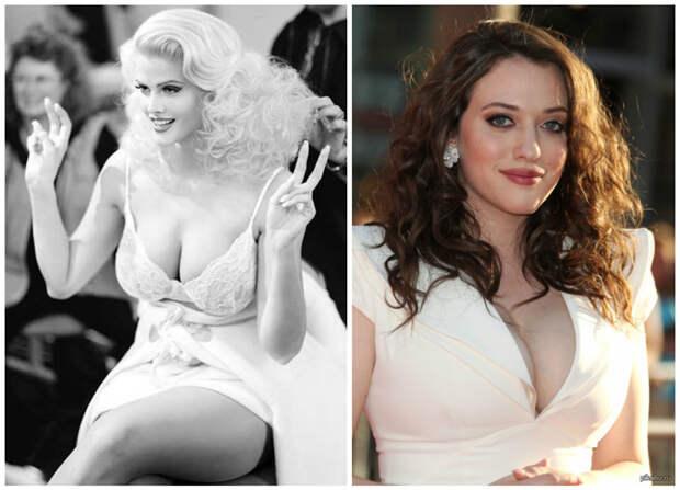 Е - пятый, весьма внушительно (некоторые производители белья пишут размер ЕЕ) Анна Николь Смитт и Кэт Деннингс белые, грудь. размер, женщины
