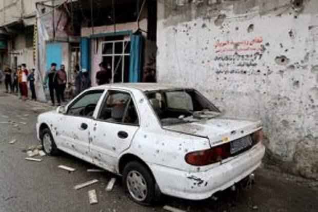 В секторе Газа погибли 20 человек после атаки со стороны Израиля