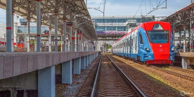 Электрички от станции «Останкино» поедут по измененному расписанию